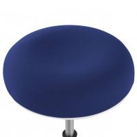 Taburete Spiro blanco azul