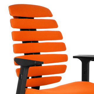 Spine Stuhl orange