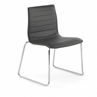 Cube Chair Cantilever Black