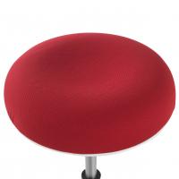 Spiro Hocker weiß rot