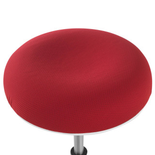 Spiro Stool White Red