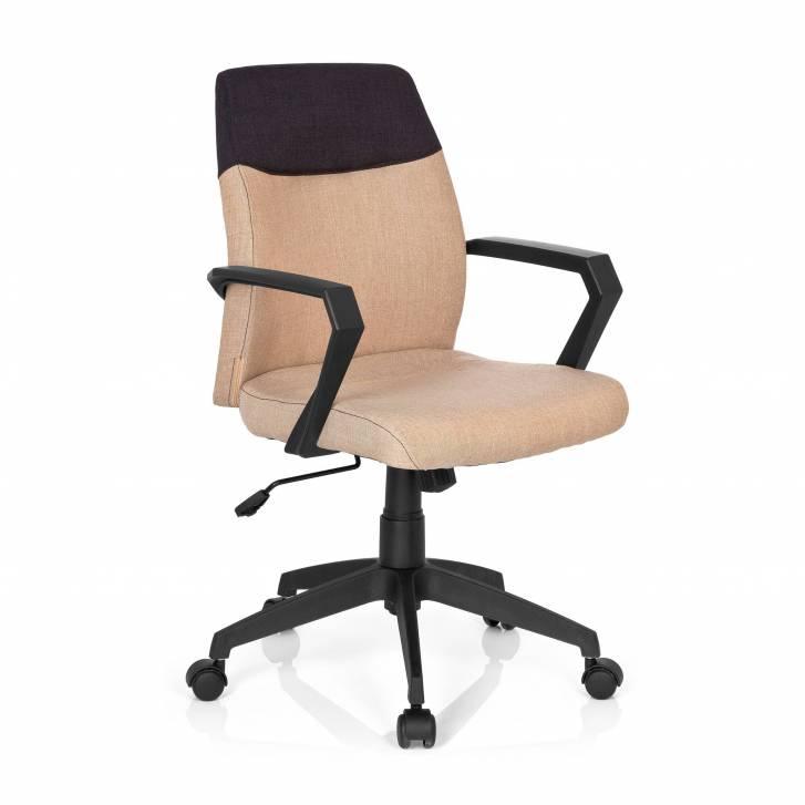 Aspen Stuhl mit niedriger Rückenlehne in beige