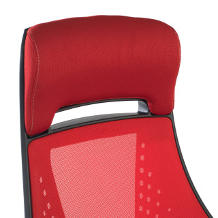 Gotham Chair Red