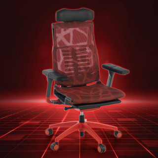 Silla Dynamic Gaming Roja