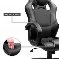 Silla Gaming Racer Negro