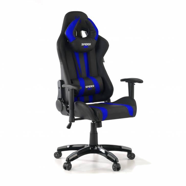 Silla Gaming Spider Azul