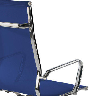 Sillón Slim red alto azul