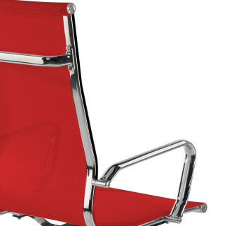 Sillón Slim red alto roja