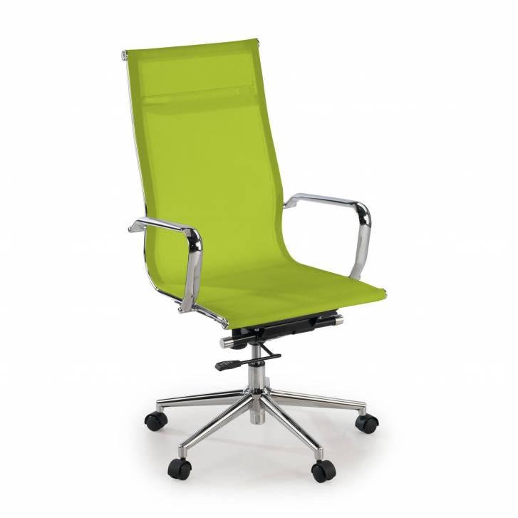 Slim Sessel, hoch, Netzgewebe, grün