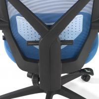 Stuhl Neo, Netzgewebe blau