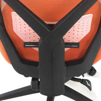 Stuhl Neo, Netzgewebe orange