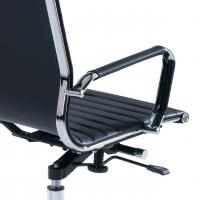 Slim Sessel, hoch, schwarz