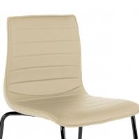 Cube Chair 4-legged Black...