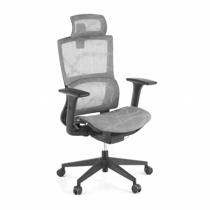Vortex Chair Mesh grey