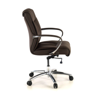 Bahia armchair low brown...