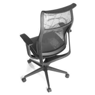 Phantom chair black mesh