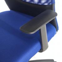 Miami Stuhl Netzgewebe blau
