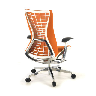 Miller ergonomic chair orange