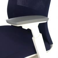 Silla Gesture white azul