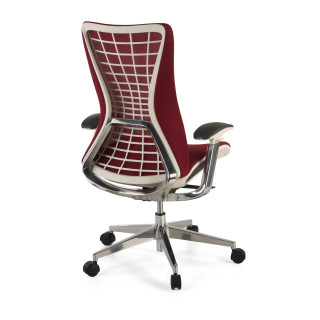 Miller ergonomic chair red