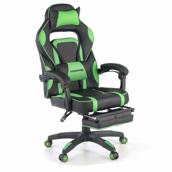 Logan gaming chair green