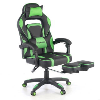 Logan gaming chair green