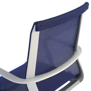 Ice chair grey blue