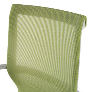 Silla Ice grey red Verde
