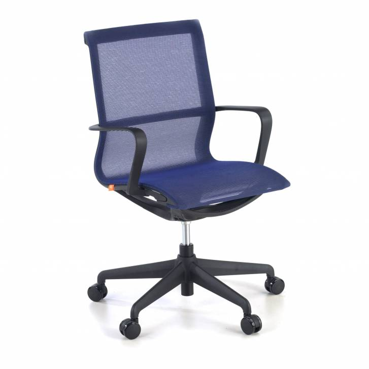 Ice chair black blue