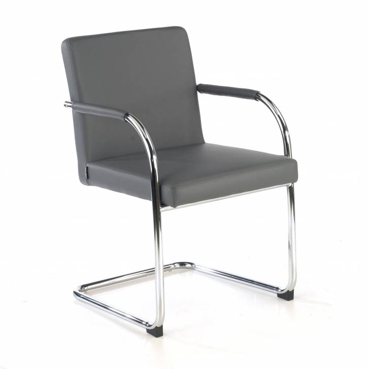 Brandy Chair Cantilever grey