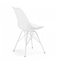 Silla Nordic Metal blanco